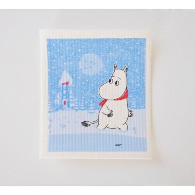 Кухонная салфетка Moomin Снег
