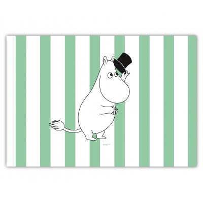 Настольный коврик Moomin Муми Папа в полоску green 40х30 см