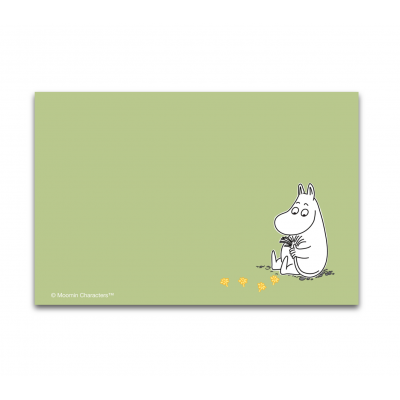 Настольный коврик Moomin Муми-Тролль green 40x30 см