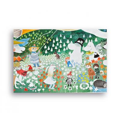 Настольный коврик Moomin Опасное путешествие 40x30