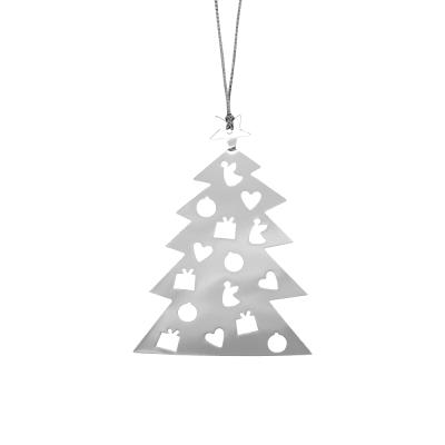 Подвесное украшение Tree Silver