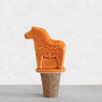 Пробка для бутылки Horse Orange