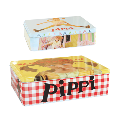 Набор оловянных коробок для хранения Pippi 2 шт.