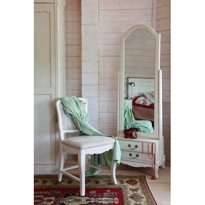 Стул с мягким сиденьем белый Provence