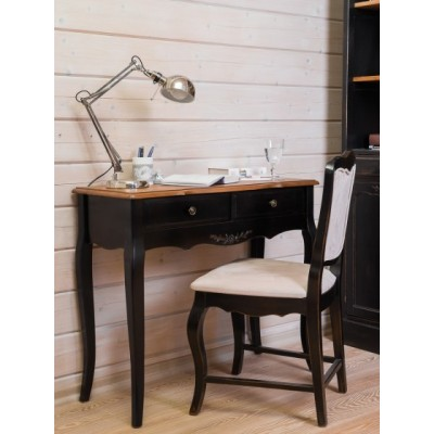 Стол письменный малый черный Provence