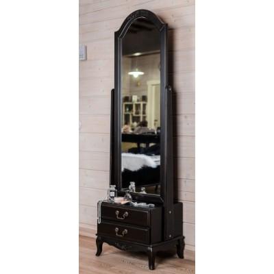 Зеркало напольное черный Provence