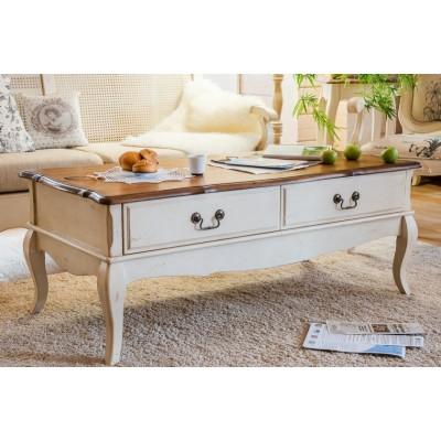 Чайный столик белый Provence