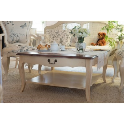 Столик чайный белый Provence