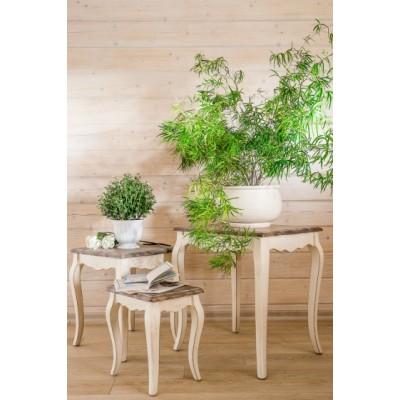 Комплект столиков  белый Provence