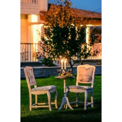 Столик кофейный белый Provence