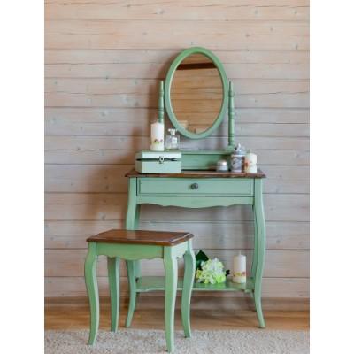 Макияжный столик зеленый Provence