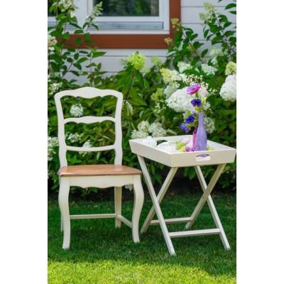 Столик раскладной белый Provence