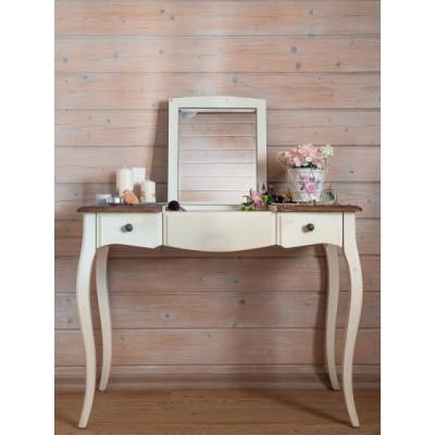 Макияжный столик с зеркалом белый Provence