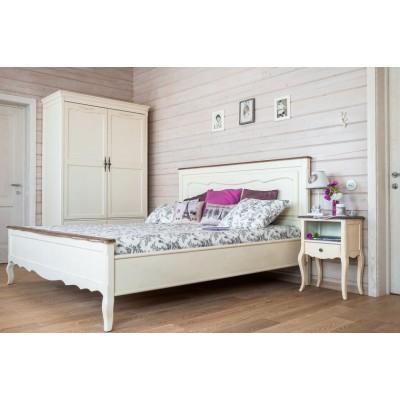 Кровать белый Provence, 200x120x120