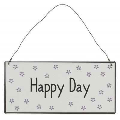 Металлическая табличка Happy Day