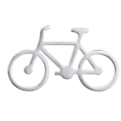 Rader Мини брошь Bike, серебро