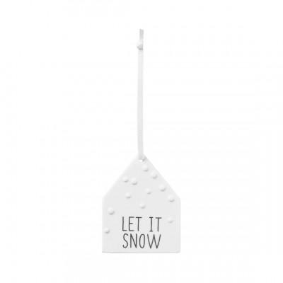 Подвесное украшение Let it snow
