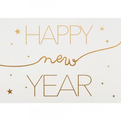 Новогодняя открытка Happy New Year