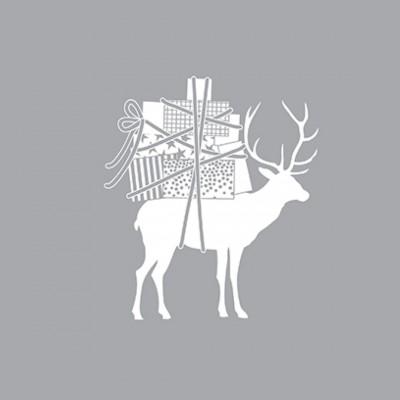 Новогодняя салфетка Reindeer