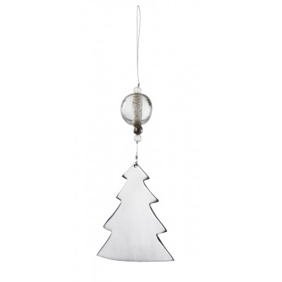 Зеркальное украшение Christmas tree