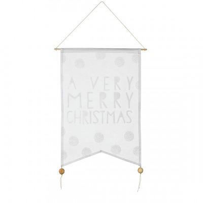 Флажок на дверь A very merry Christmas