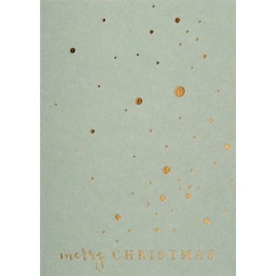 Новогодняя открытка Merry Christmas