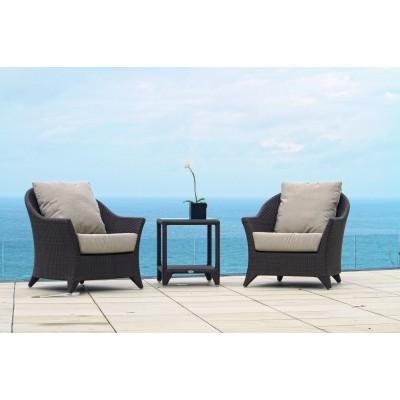 Стол приставной со стеклом SEVILLA, Sky Spain
