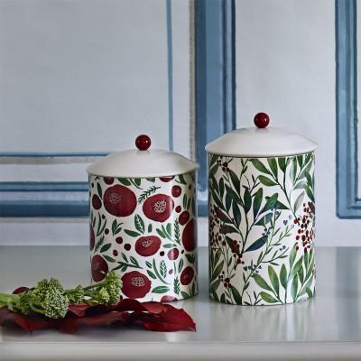 Банка для хранения Berries Red/Green