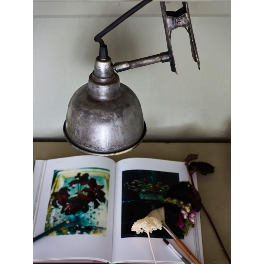 Настенный светильник с зажимом Antique SILVER