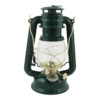Керосиновый фонарь Green/Brass Small