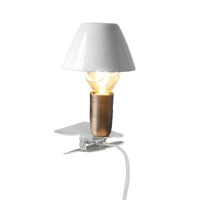 Лампа с зажимом Mini On Clip Antique White