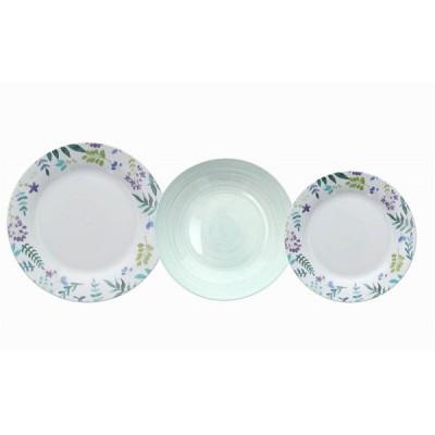 Набор тарелок Olimpia Babette 18 шт