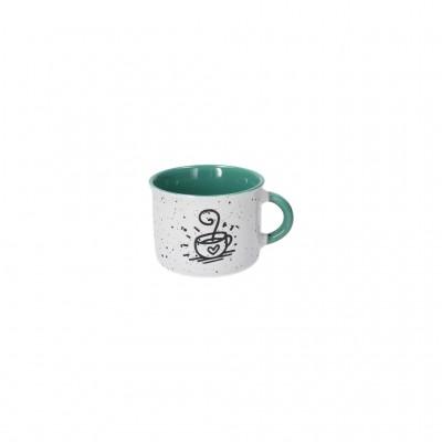 Кружка для кофе Des Arts Happy Green 90 мл
