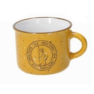 Кружка для кофе Des Arts Travel Yellow 100 мл