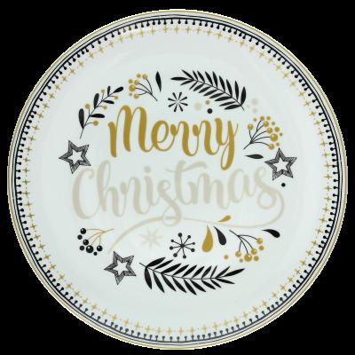 Блюдо Natale Golden W 30 см