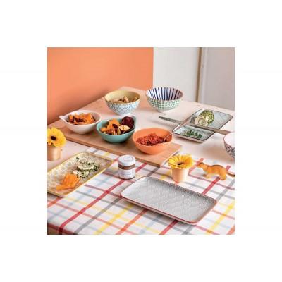Блюдо сервировочное Portata Delhi Green 21x11,5 см