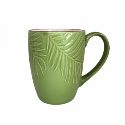 Кружка Relief Evergreen Leaf 370 мл