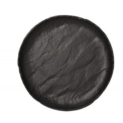 Тарелка Vulcania Black 26 см