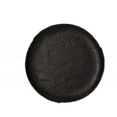 Десертная тарелка Vulcania Black 21 см