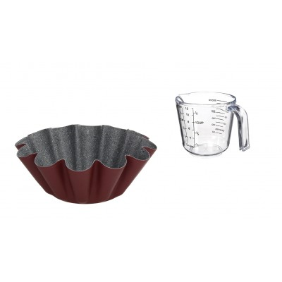 Форма для запекания Cherry Sweet Pudding 22 см и мерный кувшин 500 мл