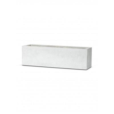 УЭЛЬС, уличный вазон 73*20, серый мрамор