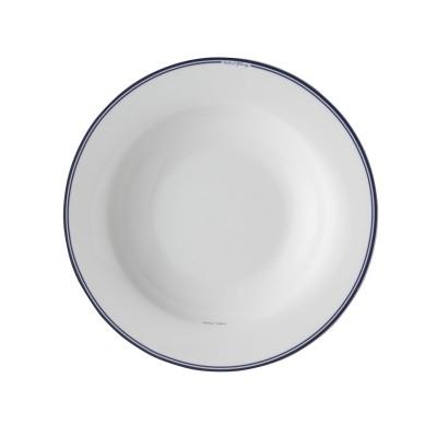 Тарелка глубокая JACKIES BAY Blue Stripe, 22 см