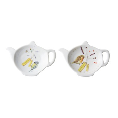 Блюдца для чайных пакетиков, M.BASTIN Tweet & Whistle, набор 2шт