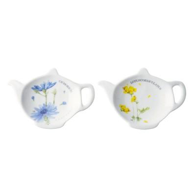Блюдца для чайных пакетиков, M.BASTIN Полевые цветы, набор 2 шт