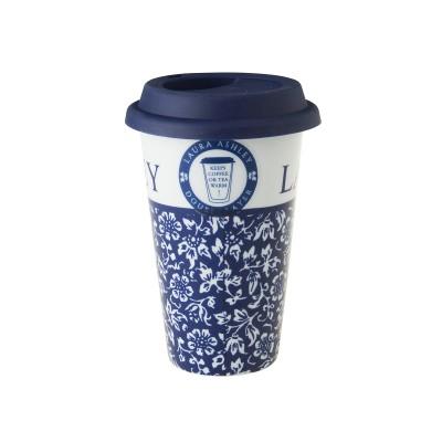 Стакан для кофе с собой Laura Ashley Sweet Allysum, 330мл