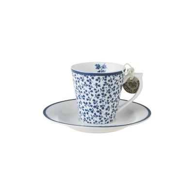 Кофейная пара эспрессо LAURA ASHLEY Floris, 90мл