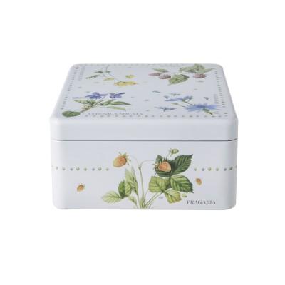 Коробка для чая с 4 отделениями M.BASTIN Полевые цветы