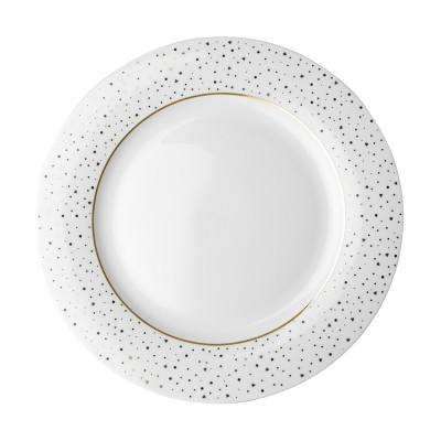 Тарелка DUTCH ROSE Sparklin White 26 см