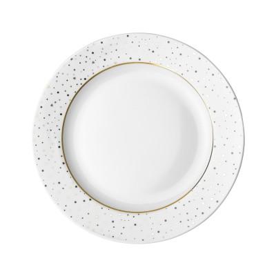 Тарелка DUTCH ROSE Sparklin White 21 см