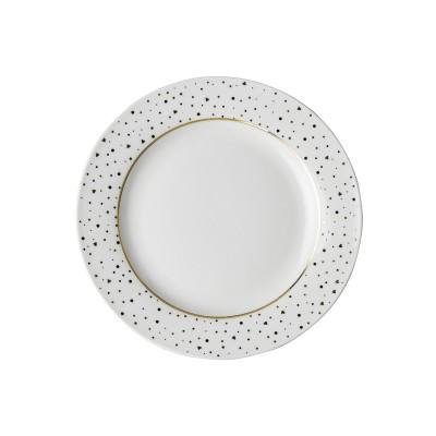 Тарелка DUTCH ROSE Sparklin White 18 см